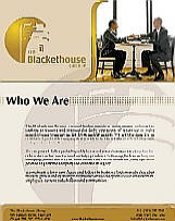 Blackethouse Group Brochure